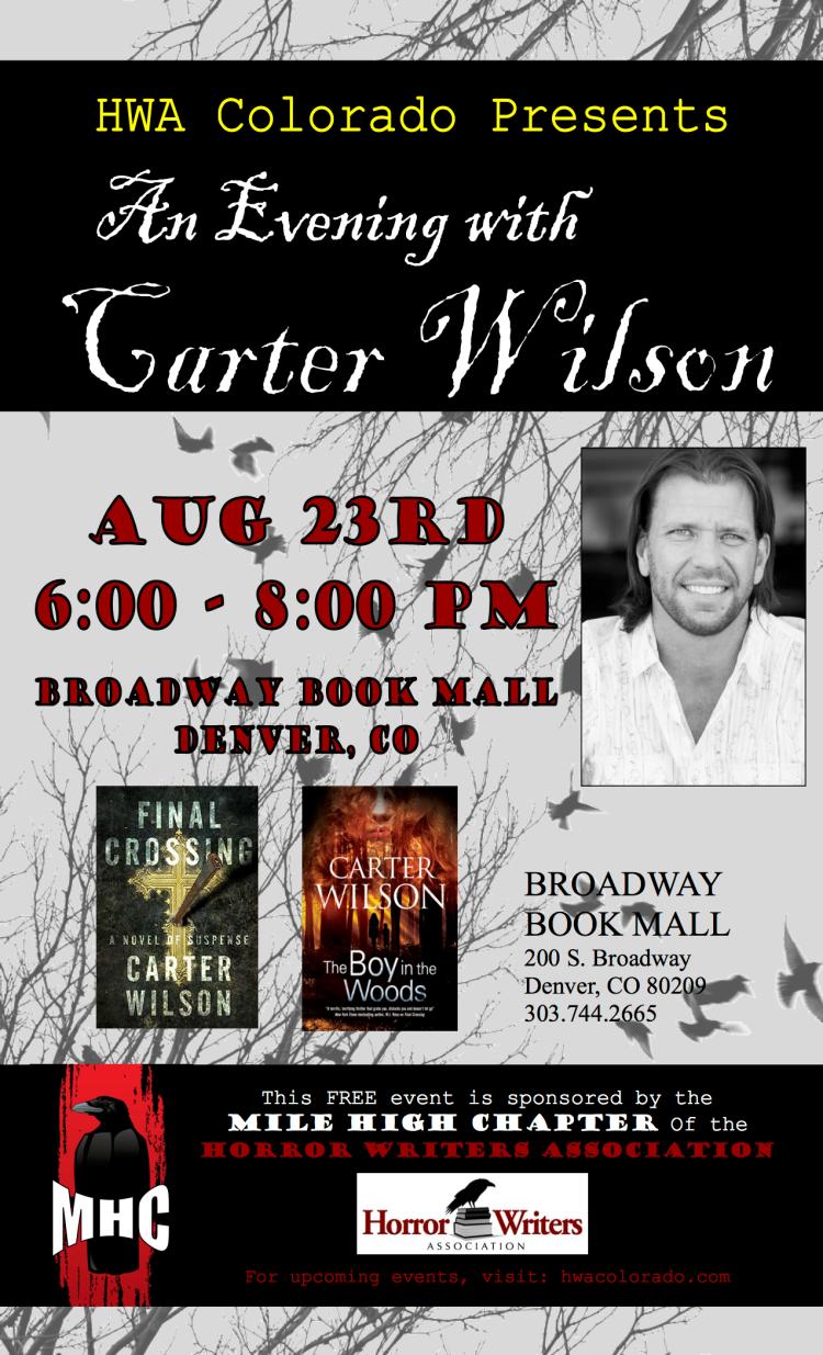 HWA Colorado presents Carter Wilson